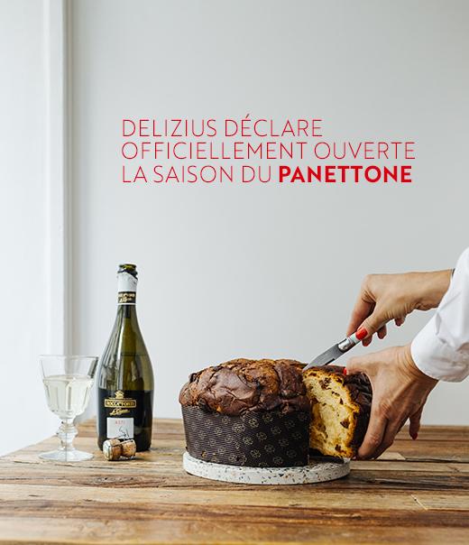 Delizius déclare officiellement ouverte la saison du panettone